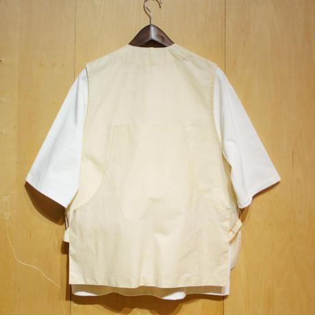 """ASEEDONCLOUD""""oykotoen safari vest """" (off white) unisex"""