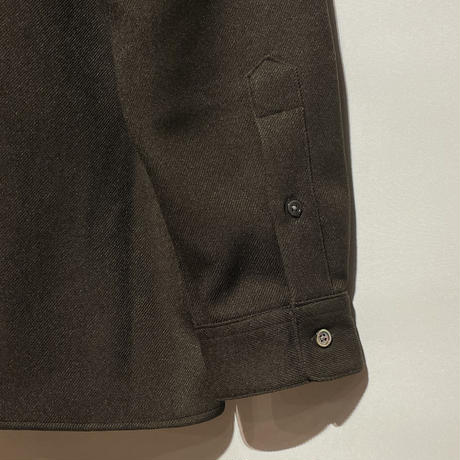 """amne """"KERSEY""""covered shirts (brown) unisex"""