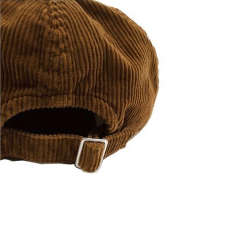 "H.UNIT ""8w corduroy ball cap""unisex"