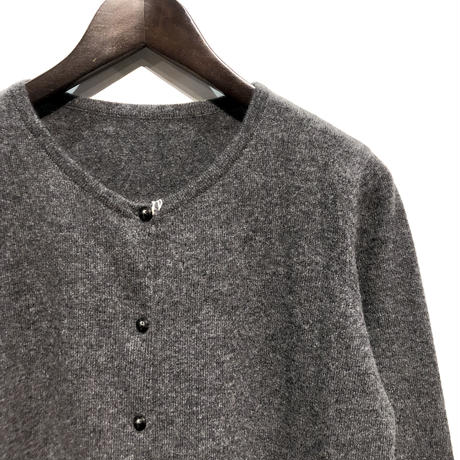 "LIMONCHELLO""cashmere knit cardigan""(charcoal grey)women's"