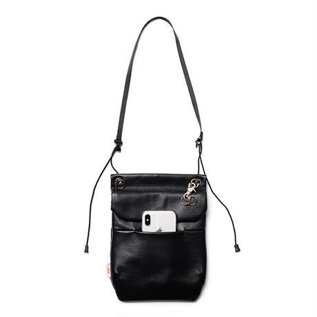 "nunc  ""vertical flap shoulder bag water repellent leather """