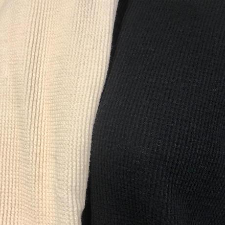 "FLISTFIA""side slit pull over""(off white) unisex"