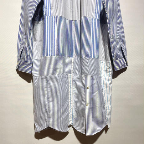 "yoused ""patchwork shirts one-piece""(asst)women's(C)"