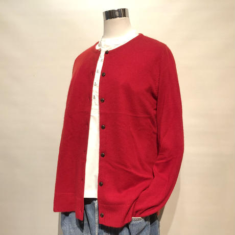 "LIMONCHELLO""cashmere knit cardigan""(red)women's"