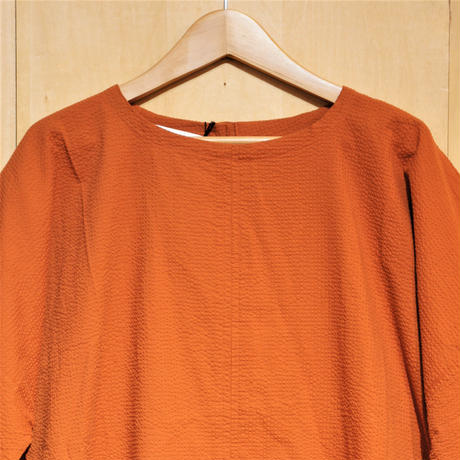 "Kate Sheridan""Edie Dress""(orange seersucker)women's"