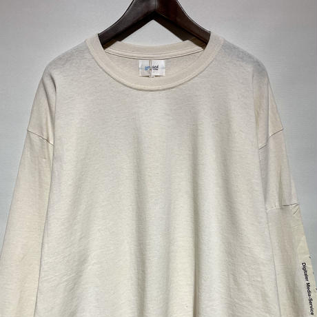 """yoused """"euro eco L/S tee""""(beige)men's(A)"""