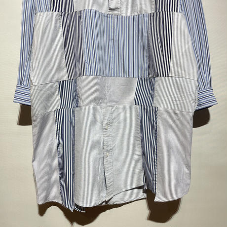 "yoused ""patchwork shirts one-piece""(asst)women's(B)"