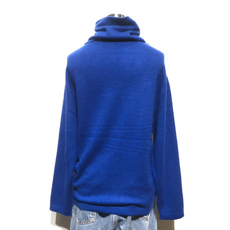 "LIMONCHELLO""cashmere knit turtle""(rolay blue)women's"