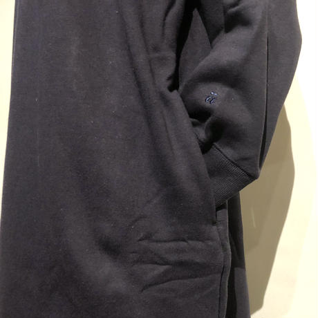 "amne ""reverse fleece dress"" (navy) women's"