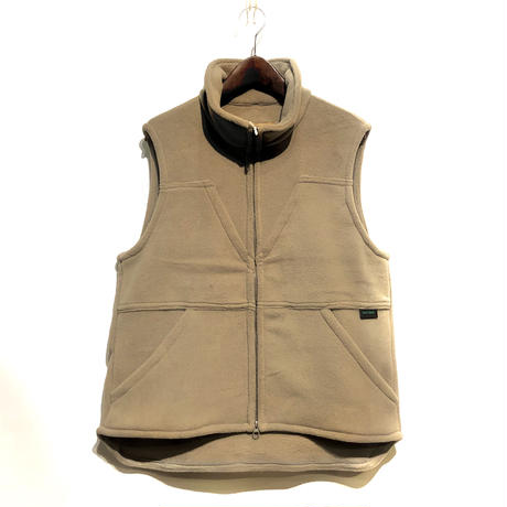 "Day One Camouflage ""hunting fleece vest with game pocket""(beige)unisex"