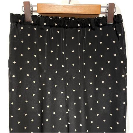 "CAERULA""dotdeshin taper pants""(black) women's"