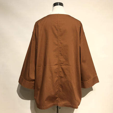 "HUE ""kung-hue jacket""(brown) unisex"