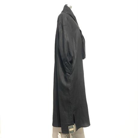 "ASEEDONCLOUD""Handwerker linen one-piece"" (black) wome's"