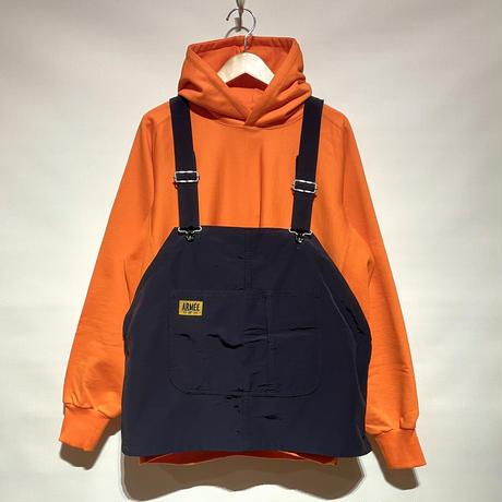 "TigreBrocante""40/60 cloth bib vest""(navy)unisex"