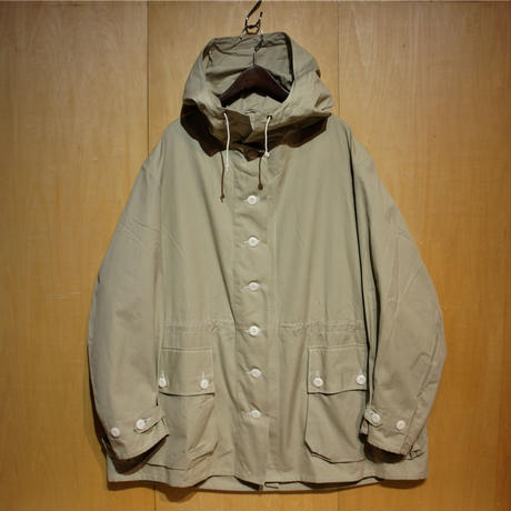 "DEADSTOCK ""Swedish Army M-62 snow camo parka""(lt.gray)"