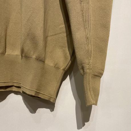 """ASEEDONCLOUD""""healing sweater""""(beige) unisex"""