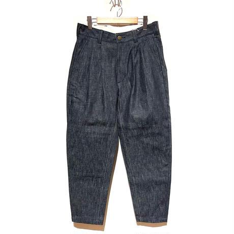 "ASEEDONCLOUD""Handwerker seeding grower trousers"" (denim indigo) unisex"