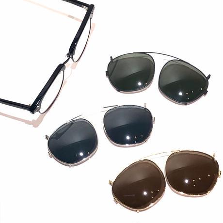 """SHURON """"RONSIR ZYL"""" clip-on polarized sunglass"""