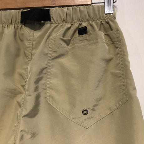 "THOUSAND MILE ""utility shorts"" (khaki)"