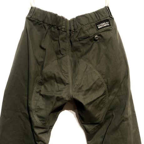 "TigreBrocante""boulder pants""(khaki)unisex"