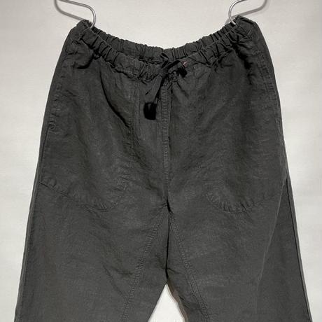 "TigreBrocante""high density linen Tagosaku Pants""(black)unisex"