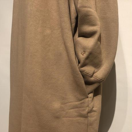 """amne """"reverse fleece dress"""" (beige) women's"""
