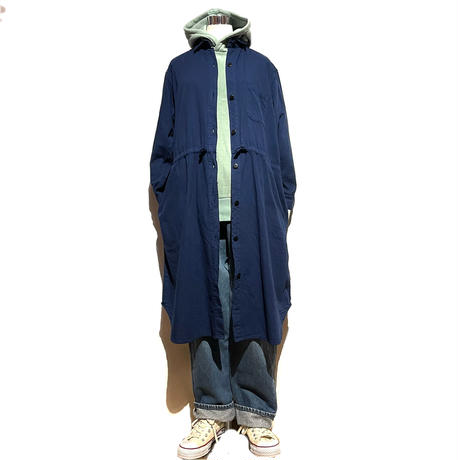 """TigreBrocante """"natural denim french strings onepiece""""(light navy) women's"""
