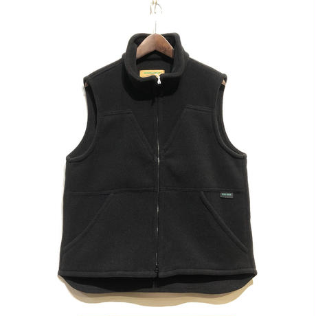 "Day One Camouflage ""hunting fleece vest with game pocket""(black)unisex"