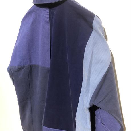 "TigreBrocante""euro work remake stallman coat""(navy asst)S-size"