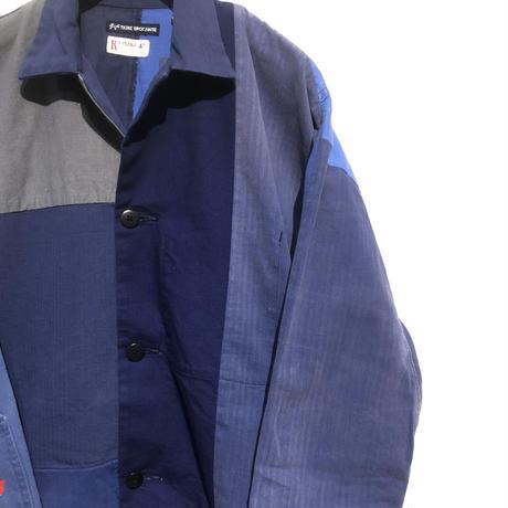 "TigreBrocante""euro work remake stallman coat""(navy asst)M-size"