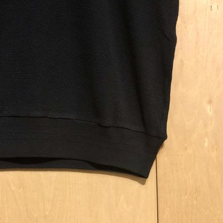 """FLISTFIA""""3/4 sleeve sweater""""(mad black) unisex"""