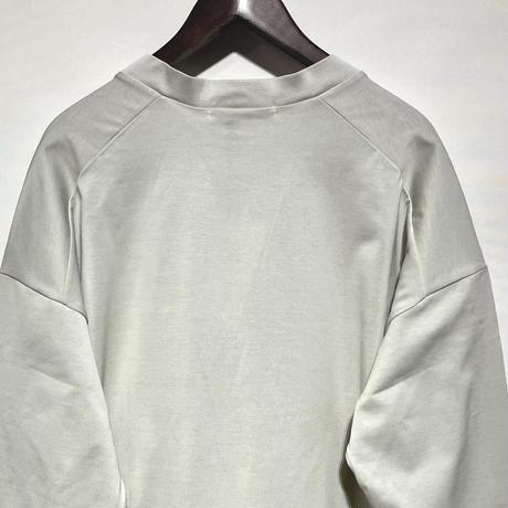 """amne """"giza round cardigan"""" (silver) unisex"""