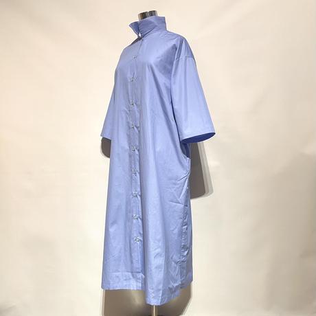 "amne ""BROAD reverse dress"" (blue) women's"