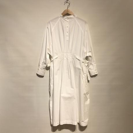 "CAERULA""typwriter cloth tuck one-piece""(white)women's"