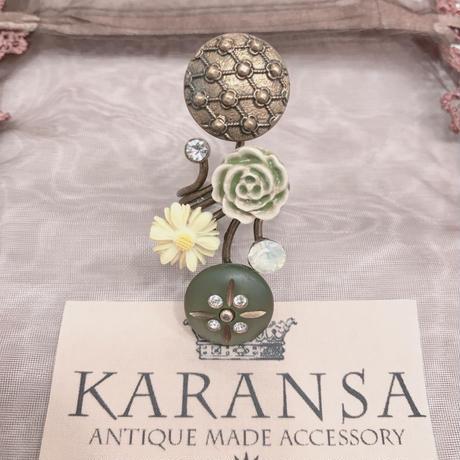 KARANSA/カランサ レトロフラワーリング KR-22