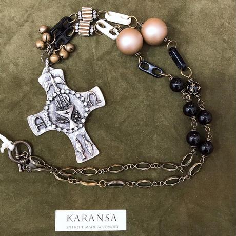KARANSA/カランサ 聖品クロスネックレス KN-44