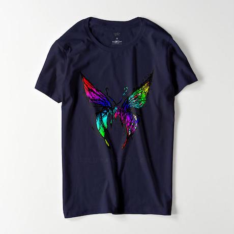 【 IBI 】 歇彩蝶 T-shirt(NV)IB20T002
