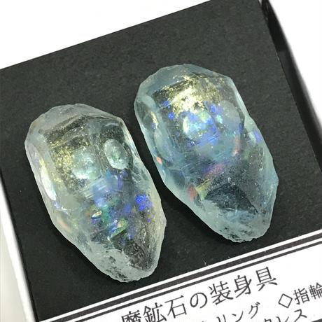 半蔵装身具屋 魔鉱石の耳飾り 7 ピアス