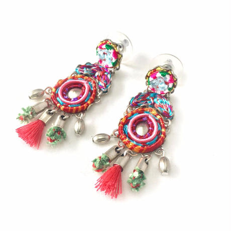"Earrings ""AYALA BAR"" Essentia 267 - ピアス アヤラ・バー"