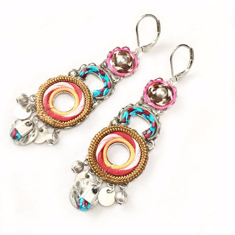 "Earrings ""AYALA BAR"" Essentia 272 - ピアス アヤラ・バー"