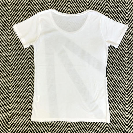 ARROW TEE  Ladies (White)