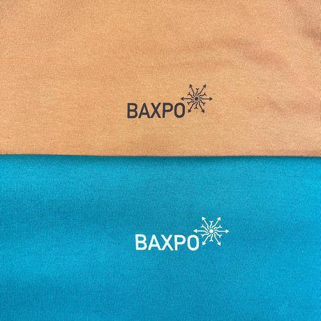 BAXPO TEE (キャメル / アップルグリーン)