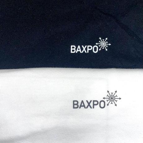 BAXPO ロンTEE (ブラック / ホワイト)