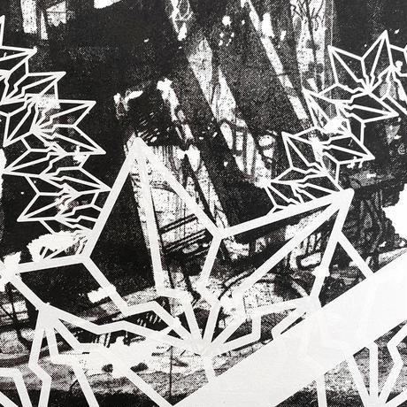 Yokoyama Ryuhei × BAKIBAKI  シルクスクリーンプリント