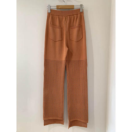 HOLE KNIT PANTS
