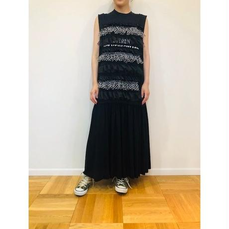 GATHER T-SHIRT DRESS