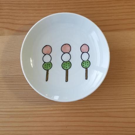 九谷焼 豆皿 桜餅・柏餅・三色団子・菜の花・どら焼き・リボン