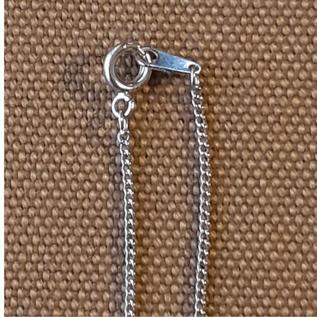 刺繍ネックレス スマイル