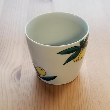 九谷焼 フリーカップ 枇杷・金柑