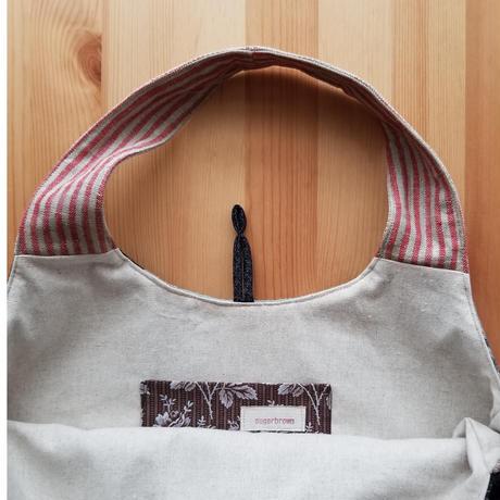 sugarbrown ウール素材バッグ